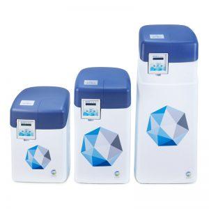 cała seria zmiękczaczy wody Ecoperla Slimline